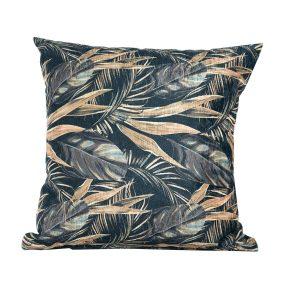 Black Floral Scatter Cushiona