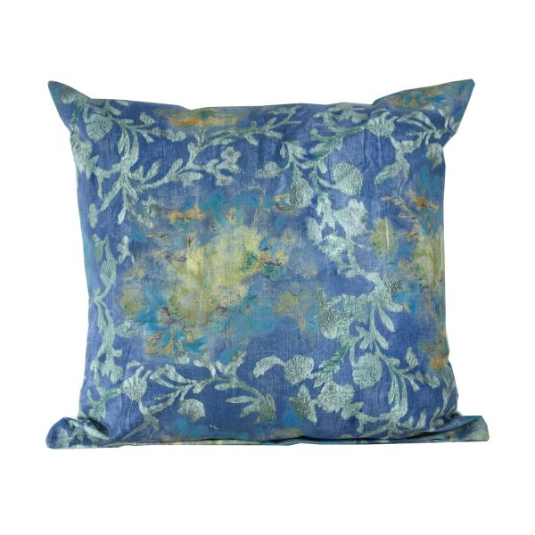 Blue Floral Scatter Cushion