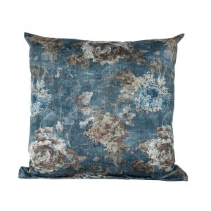 Navy Floral Scatter Cushion