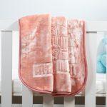 Baby Faux Mink Blanket Peach