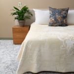 Orchid Faux Mink Blanket Cream