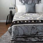 Zoya Faux Mink Blanket Grey