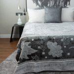 Letsatsi Faux Mink Blanket Grey