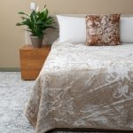London Faux Mink Blanket Natural