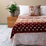 Zoya Faux Mink Blanket Natural