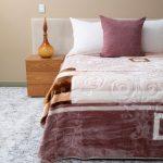 Letsatsi Faux Mink Blanket Natural