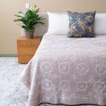 Pandora Faux Mink Blanket Natural