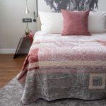 Letsatsi Faux Mink Blanket Pattern Pink