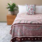 Zoya Faux Mink Blanket Pink