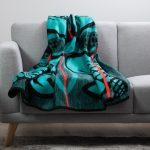 Basotho Blanket Turquoise